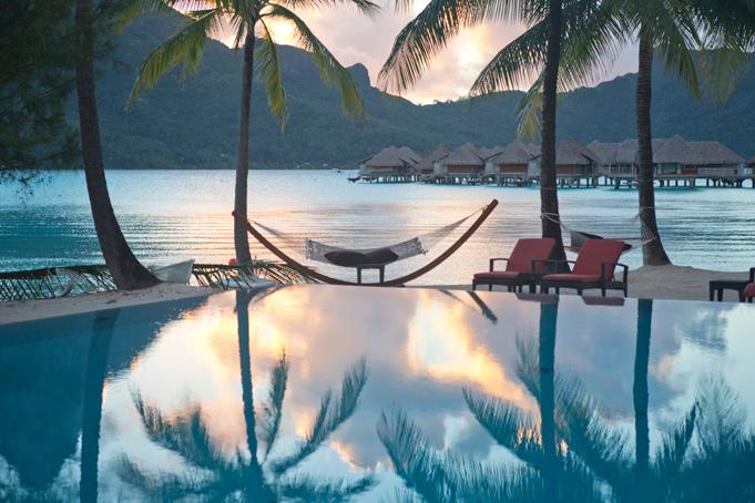 Hotels und Resorts in Französisch Polynesien, Bild: Bora Bora