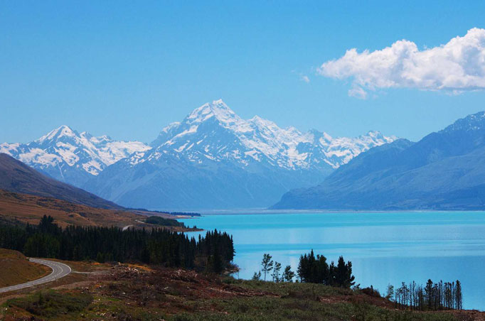 Mount Cook National Park Tagestour ab Christchurch