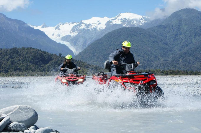 Quad Bike Ride Tour, Franz Josef Glacier