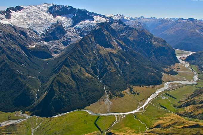 Mt Aspiring National Park: Rob Roy Glacier Walk, geführt