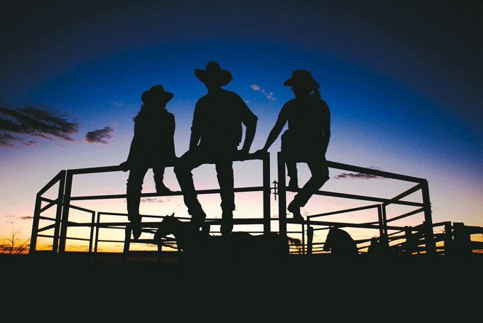 Farmstays, Pubstays und Hotels, typisch Australien