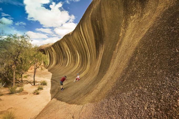 Südwesten von Australien mit Esperance und Wave Rock
