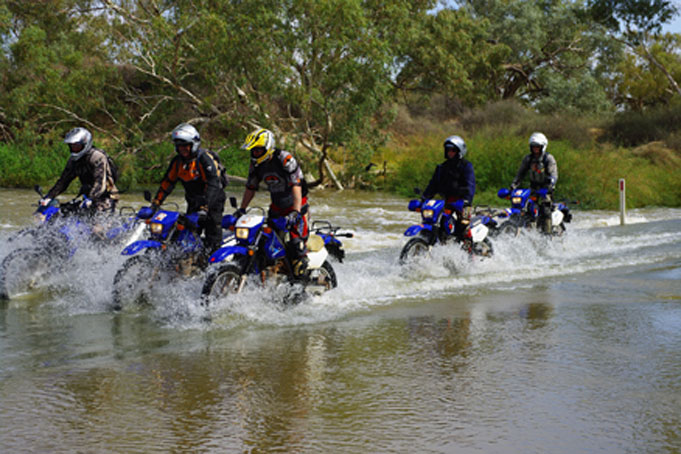 Guided Motorbike Tour Tasmania and the 'High Country'