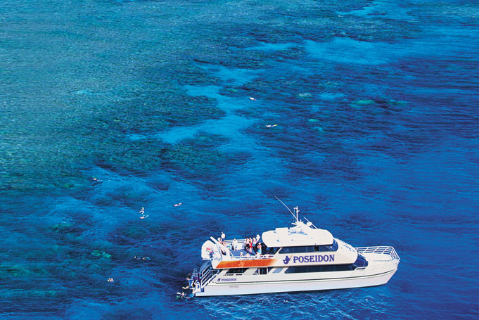 Poseidon Outer Reef Cruise Schnorcheln ex Cairns