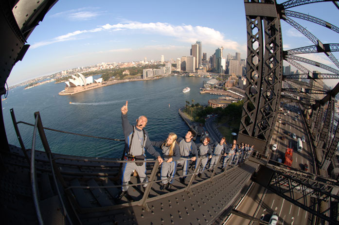 "Sydney Bridge Climbing ""The Coathanger"""