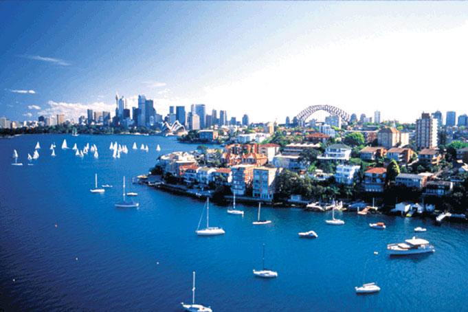 urlaub australien - Hafenrundfahrt in Sydney mit Harbour Odyssey