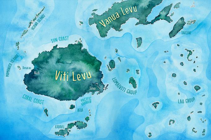In Fiji gibt es allein 15 Wörter für das Wort Himmel: Yasawa