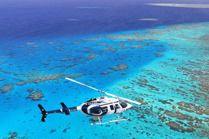 30 Minuten Reef Discovery Scenic Flight ex Northern Beaches