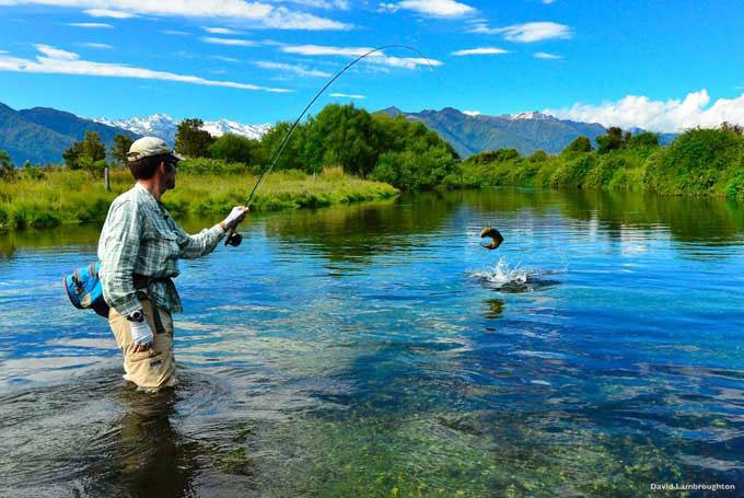 Fliegenfischen in den besten Gegenden von Neuseeland
