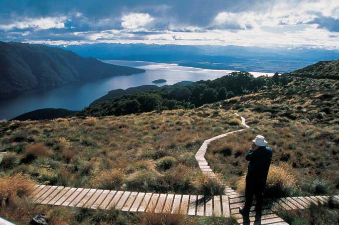 Kepler Track, Wanderweg im Fiordland