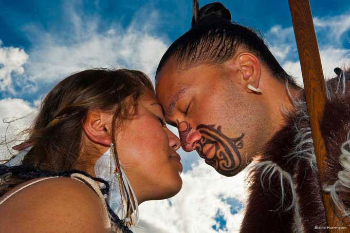 Maori sind die Tangata Whenua