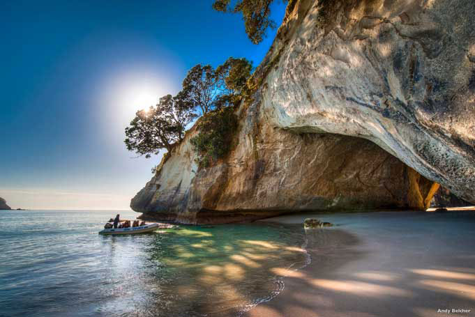 Cathedral Cove auf der Coromandel Peninsula