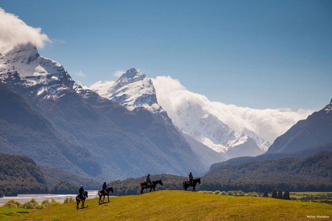 Glenorchy, Outdoor Region für Wandern und Bergsteigen