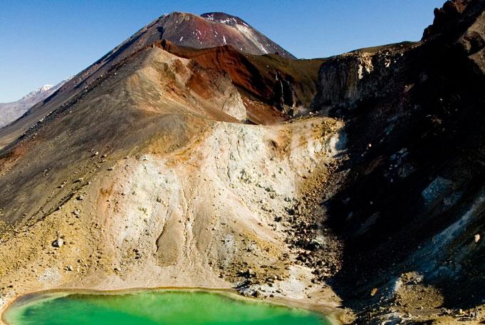 Tongariro Alpine Crossing, unvergeßliche Tageswanderung