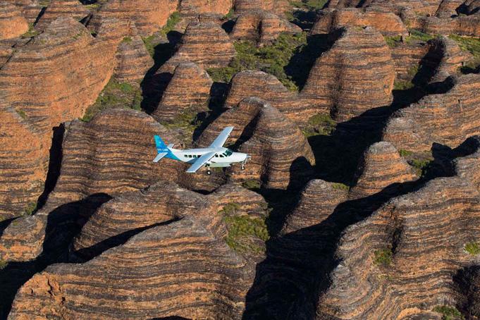 Bungle Bungles Flugsafari zu 350 Millionen Jahre Geschichte