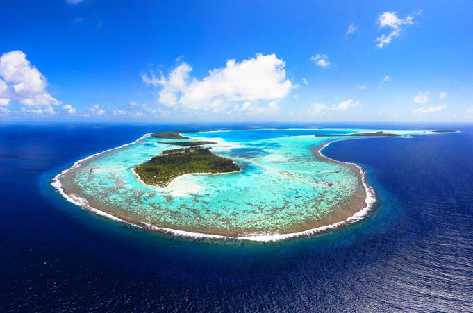 """Tetiaroa längst die Vogelinsel vor """"Meuterei auf der Bounty"""""""