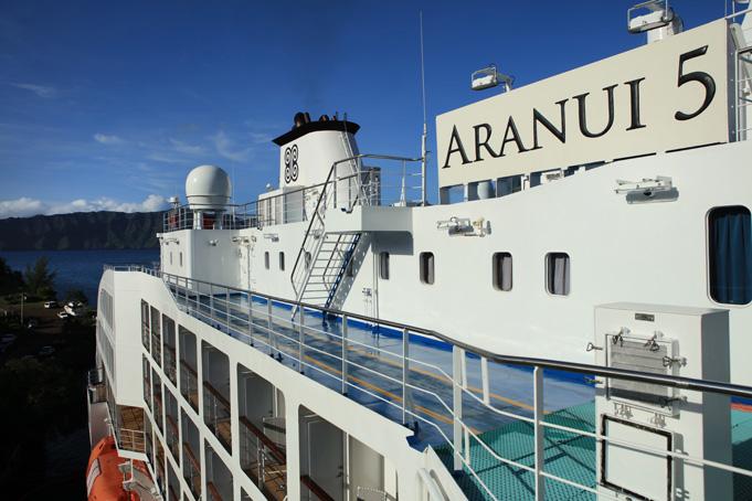 Frachtschifffahrt auf der Aranui 5