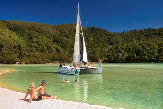 Tagestour Segelkreuzfahrt Abel Tasman ex Nelson