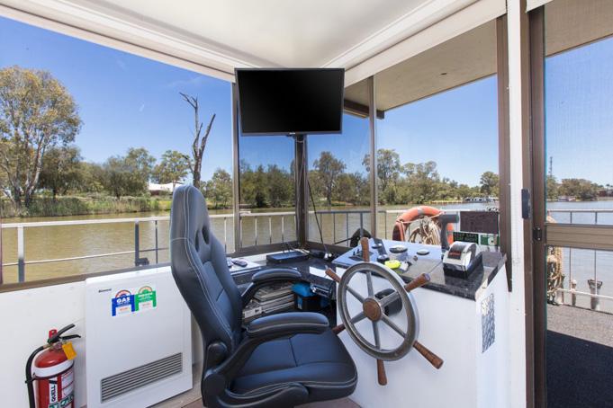 Hausbooturlaub mit Albert James auf dem Murray River