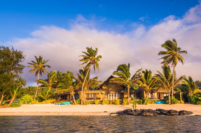 urlaub Südsee - Hotels und Resorts auf den Cook Inseln: Bild Rumours-Luxury-Villas-Spa